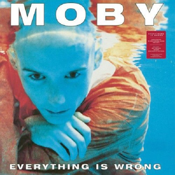 "LP Moby ""Everything is wrong"""
