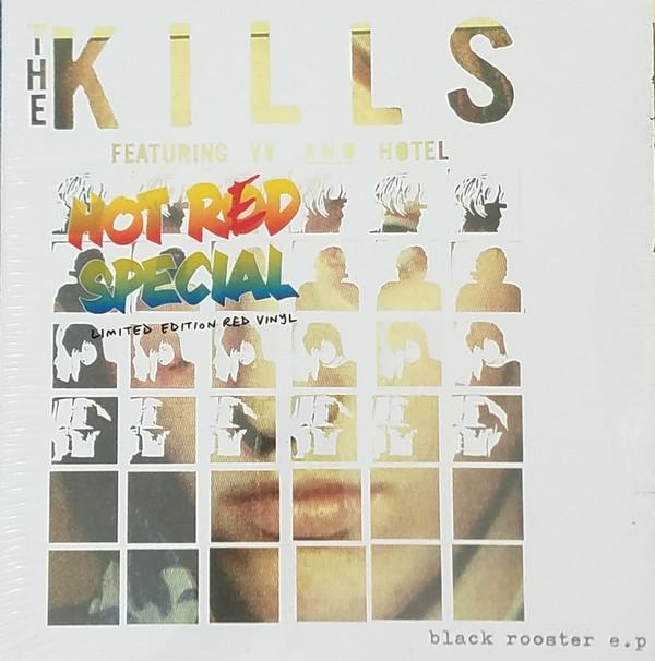 """EP 10'' THE KILLS """"BLACK ROOSTER"""" RSD 2017"""