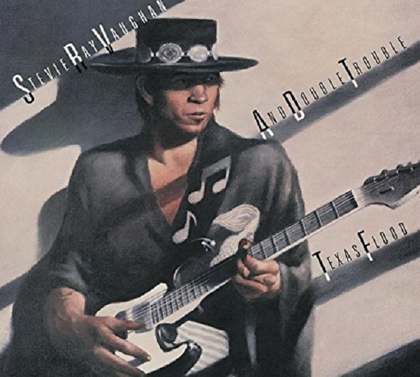 "Sony Music LP stevie Ray Vaughan and Double Trouble ""Texas flood"""