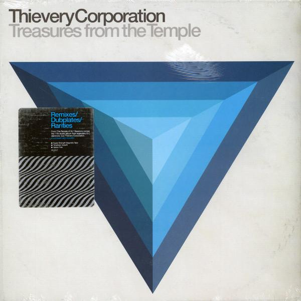 "LP THIEVERY CORPORATION ""Treasures From The Temple"" 2LP"