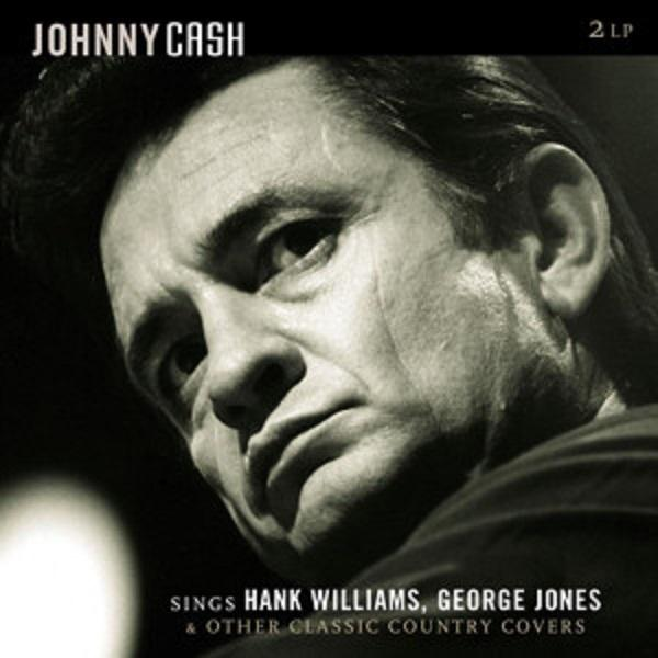 LP JOHNNY CASH Sings Hank Williams, George Jones.. 2LP