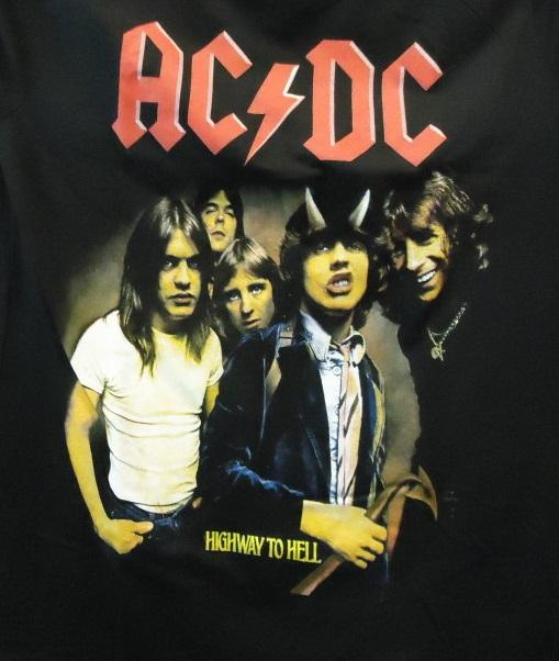 "CAMISETA AC/DC  ""Highway to hell"""""