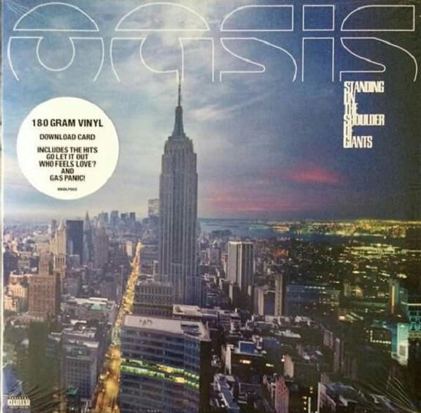 "LP Oasis ""Standing on the shoulder of giants"" 180 grs"