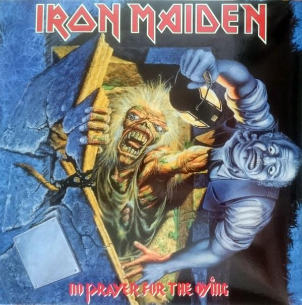 LP IRON MAIDEN No prayer for the dying