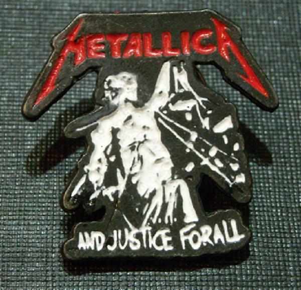 Pin Metallica And justice for all