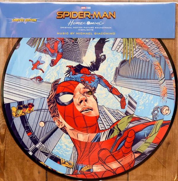 Sony Music LP PICTURE DISC MICHAEL GIACCHINO Spider-Man: Homecoming