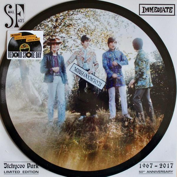 "Picture disc Small Faces """"Itchycoo park"" 10"""