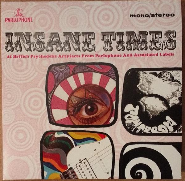 "Universal Music LP Varios "" Insane Times 21 British Psychedelic Artyfacts From Parlophone And Associated Labels"" 2LP"