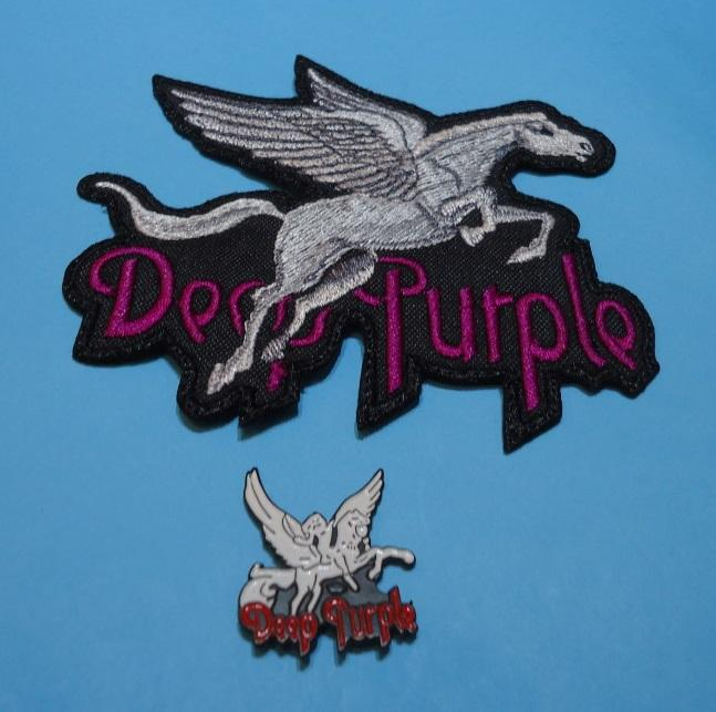 LOTE DEEP PURPLE Pin + Parche