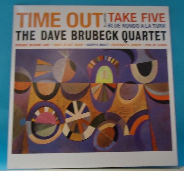 LP The Dave Brubeck Quartet ‎– Time Out Vinyl NM Cover NM