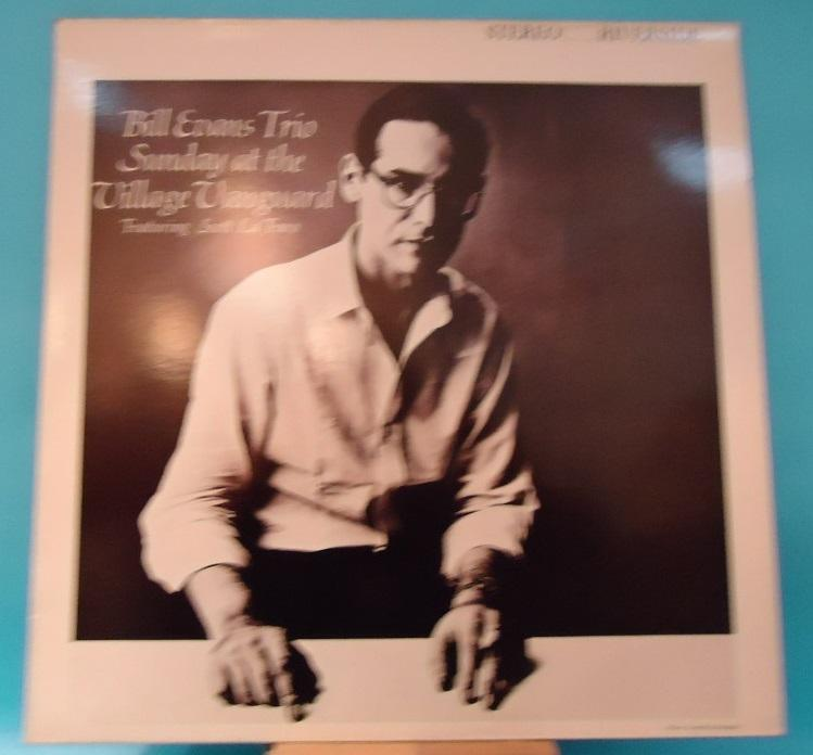 LP Bill Evans Trio Featuring Scott La Faro ‎– Sunday At The Village Vanguard Vinyl EXC+ Cover EXC+
