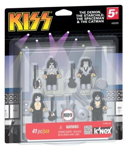 Figuras KISS The demon, the starchild, the spaceman & the catman K'NEX