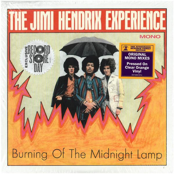 EP 7'' The Jimi Hendrix Experience ‎– Burning Of The Midnight Lamp