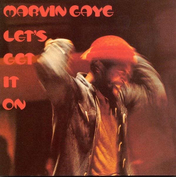 LP Marvin Gaye ‎– Let's Get It On