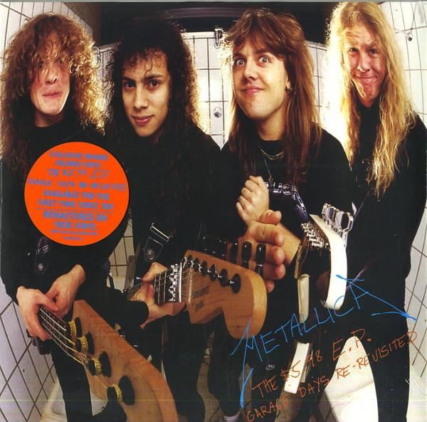 EP 12'' Metallica ‎– The $5.98 E.P. - Garage Days Re-Revisited