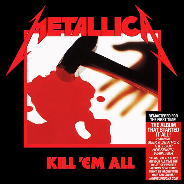 "Universal Music LP Metallica ‎""Kill 'em all"""