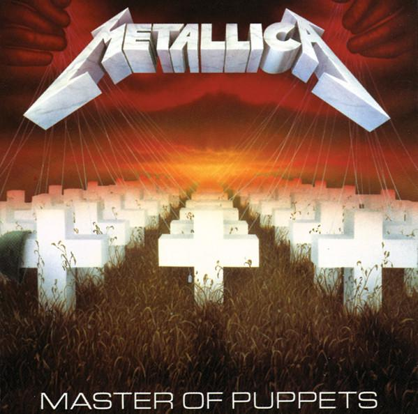 "Universal Music LP Metallica ""Master of puppets"""