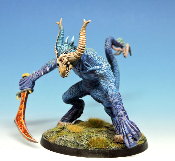 Demon Lord of Malice   Knightmare Miniatures