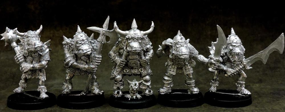 Orc warriors unit #1