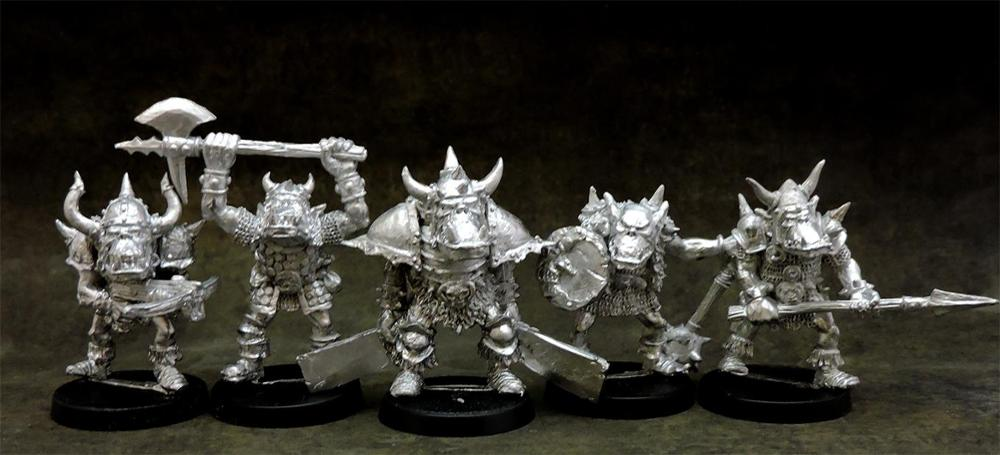 Orc warriors unit #2