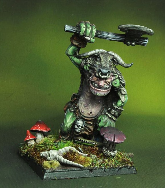 Feral Troll ( Only Resin )