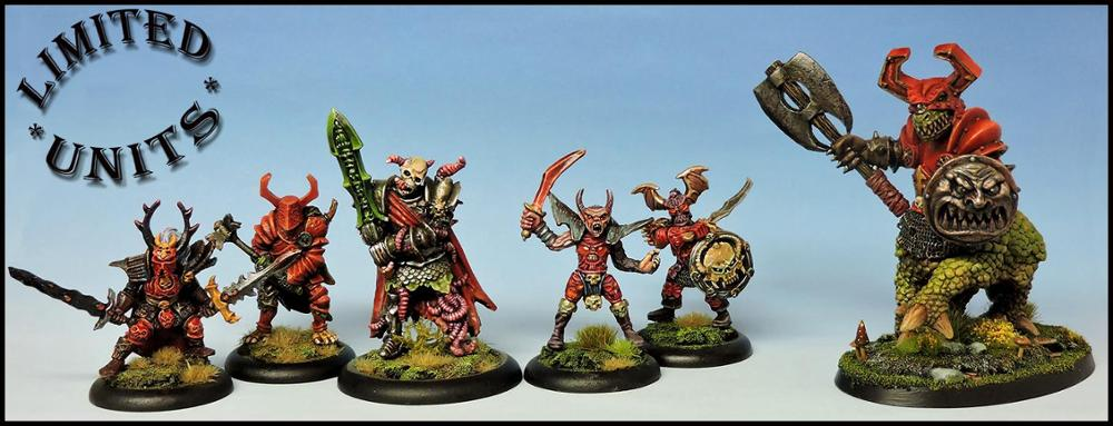 Izatum Warriors Warband