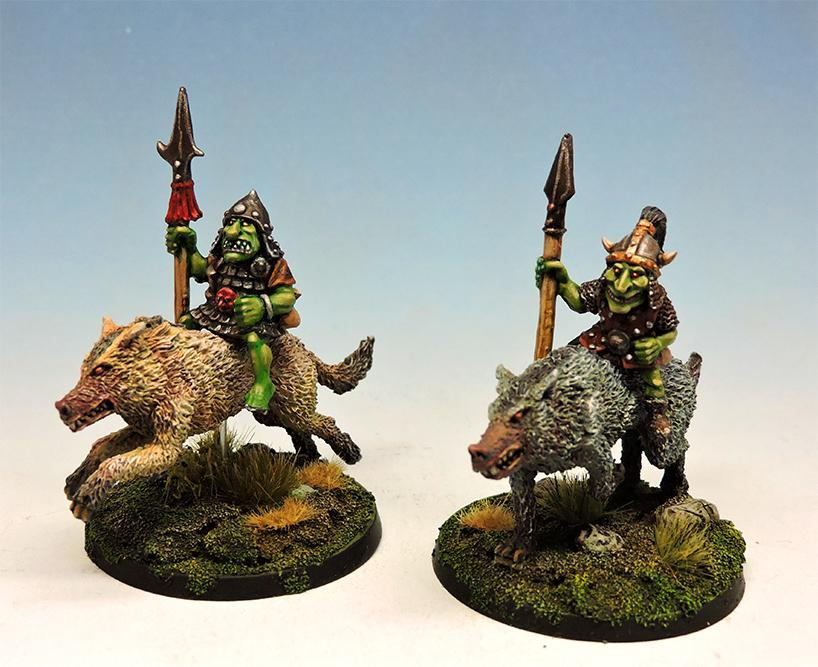 Goblin wolf riders with lance #2