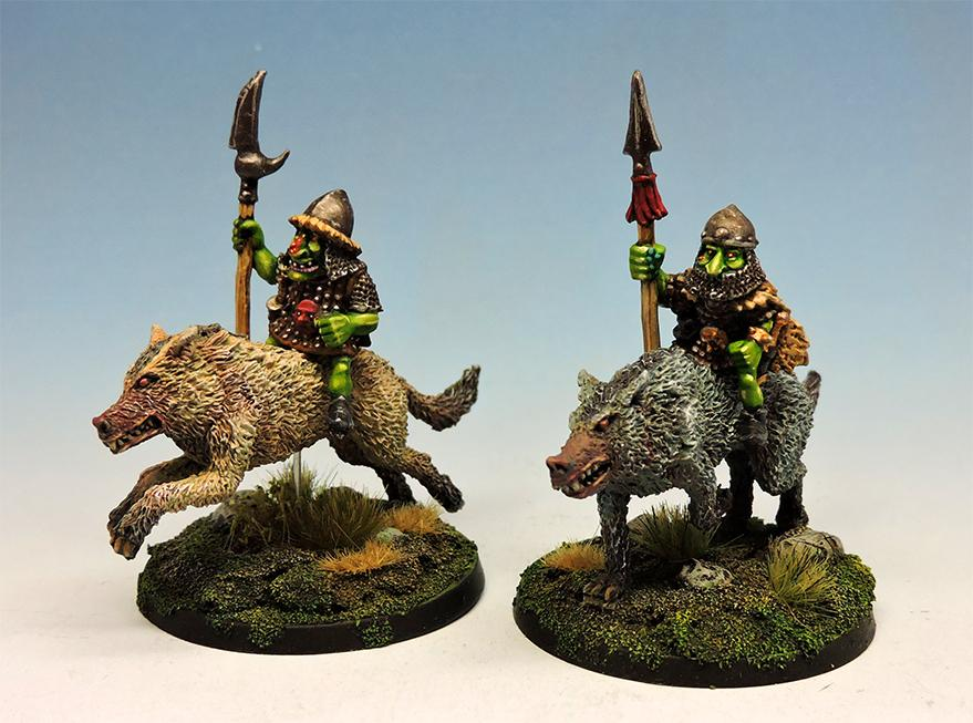 Goblin wolf riders with lance #1