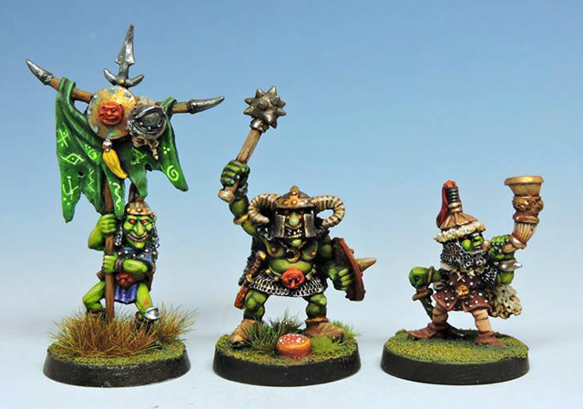 Hill Goblins command Group