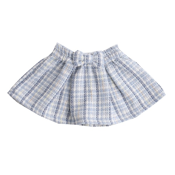 TIE SKIRT WITH BOW