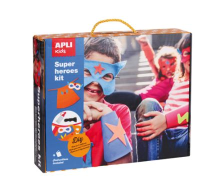 APLI kids SUPER HEROES KIT