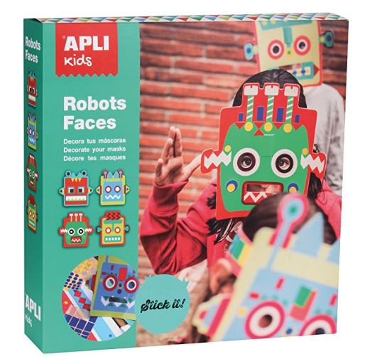 APLI kids ROBOTS FACES