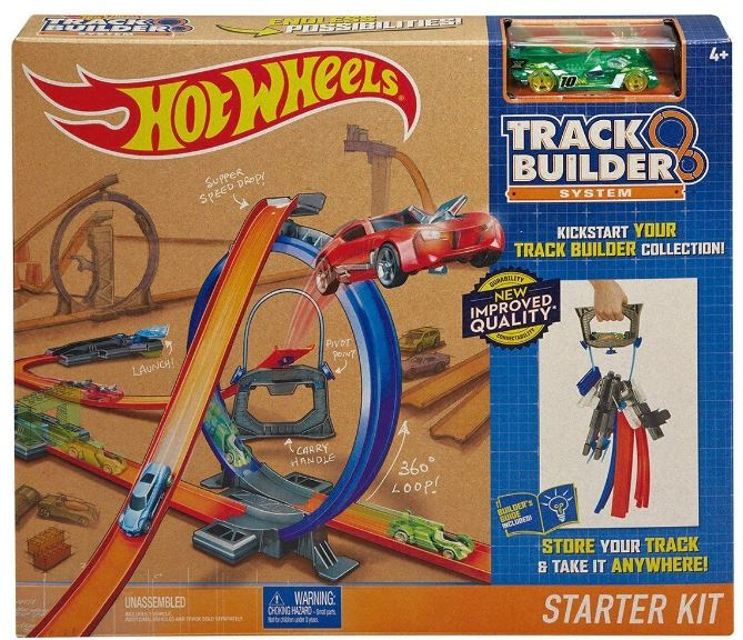 HOT WEELS TRACK BUILDER