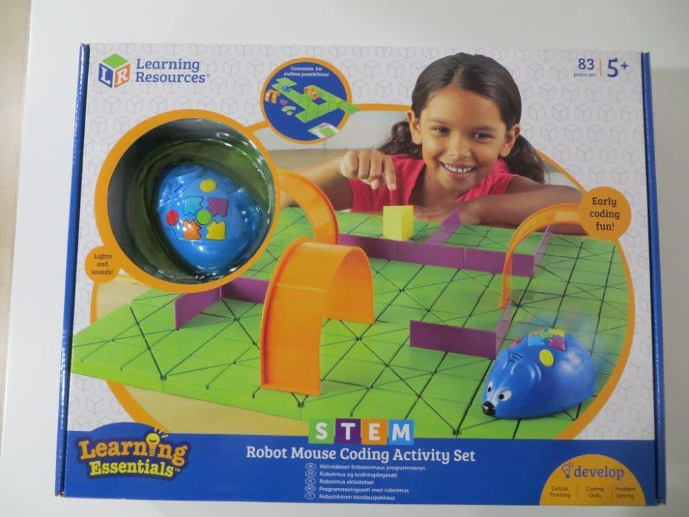 LEARNING RESOURCES Robot Mouse  20% Set 83 piezas.