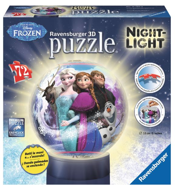 RAVENSBURGER PUZZLE 3D FROZEN NIGHT LIGHT
