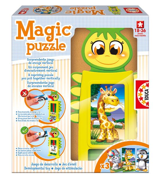 EDUCA MAGIC PUZZLE  R 15499