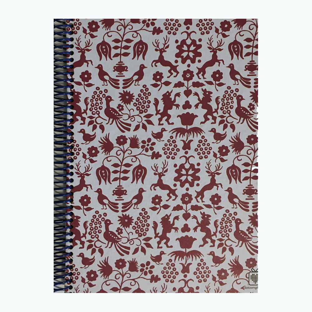 Cuaderno Espiral Animalitos Marrón A5