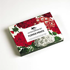 Set de Cartas Flower Prints