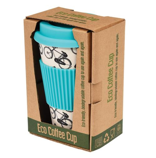 REX LONDON Bamboo Travel Mug