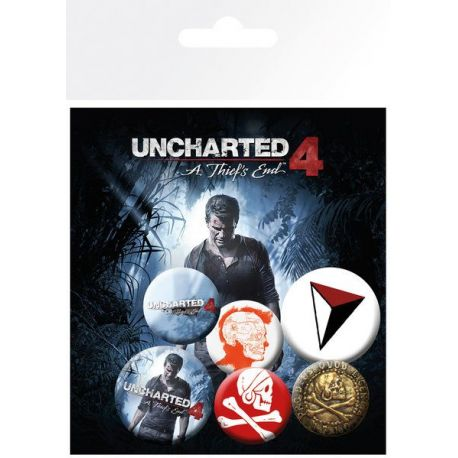 Pack de Chapas Uncharted Mix