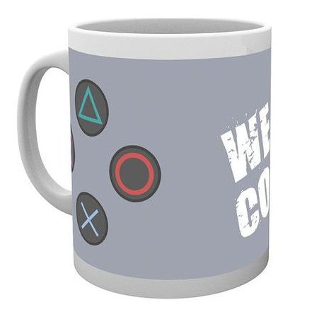 Taza Play Station Controller