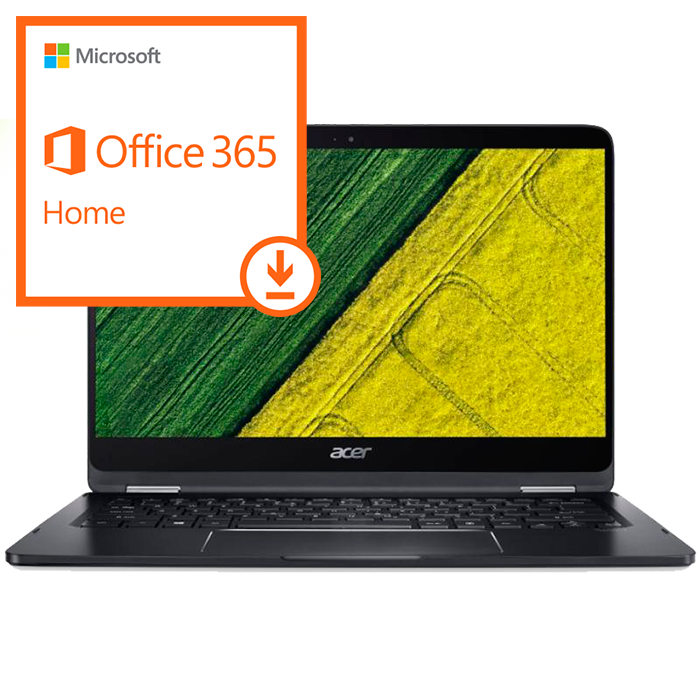 Acer Aspire Spin 7 +Windows 10 + Office 365 Home - ESD