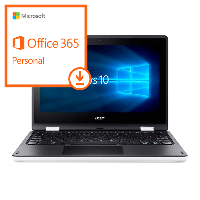 Acer Aspire R3 + Windows 10 + Office 365 Personal - ESD