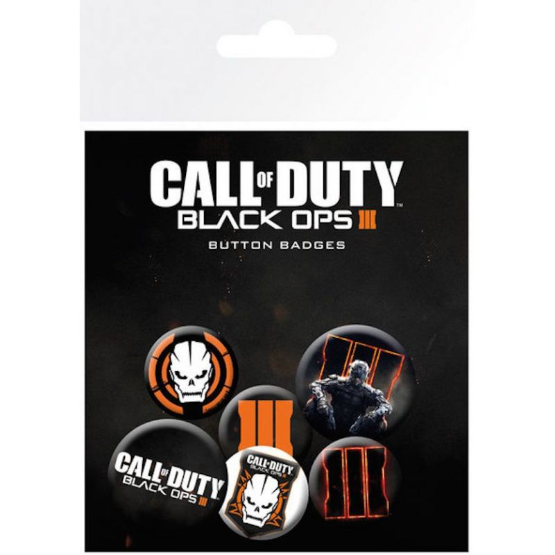 Pack de Chapas Call of Duty - Black Ops 3 Mix