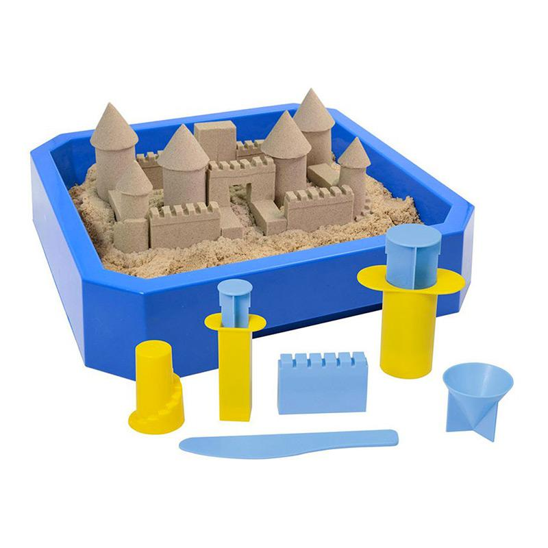 WABA FUN Pack Kinetic sand 2,5 Kg + Moldes + Bandeja