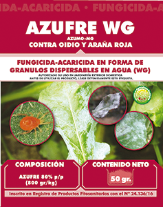 Agricentro - F AZUFRE 50gr. JED