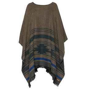 ALONSPORT - BARTS WESER PONCHO TAUPE