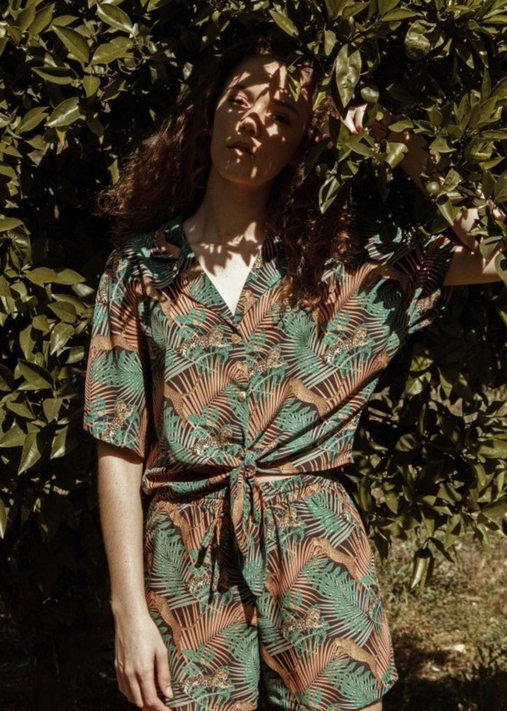 amour - AMOUR CAMISA SELVA