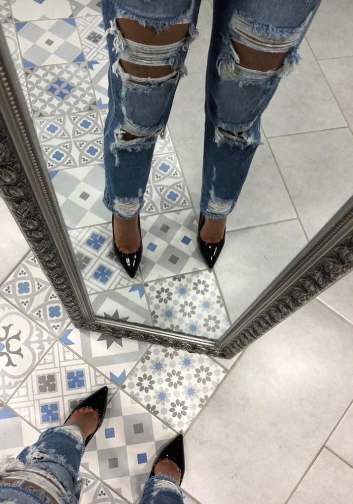 AMOUR Jeans rotos