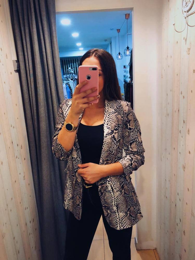 amour - AMOUR CHAQUETA  SNAKE